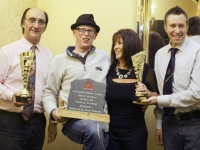 One Day Doubles Net Handicap KO Winners