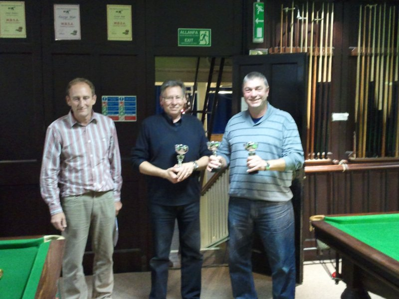 Team Singles Knockout Winners - Aberporth