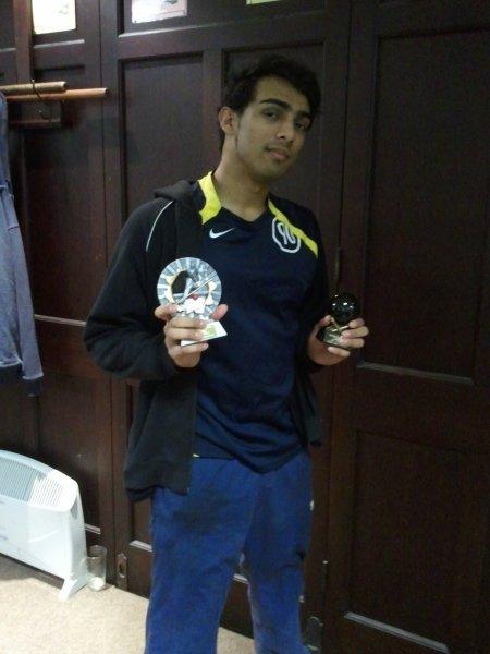 Captains R/U and Highest Break Div 2 - Samir Ali (Aberaeron D)