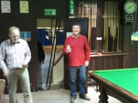 Open Singles R/U - Dafydd Phillips (Aberaeron A)
