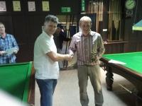 Over 40\'s Winner - Andrew James (Felindre A)