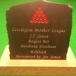 Handicapped Singles Trophy